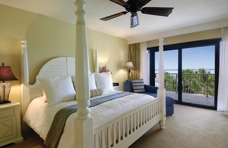 Guest room at Hawks Cay Resort.