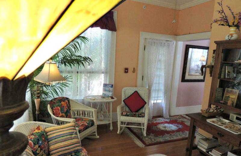 Florida Room at Magnolia Inn Bed & Breakfast.
