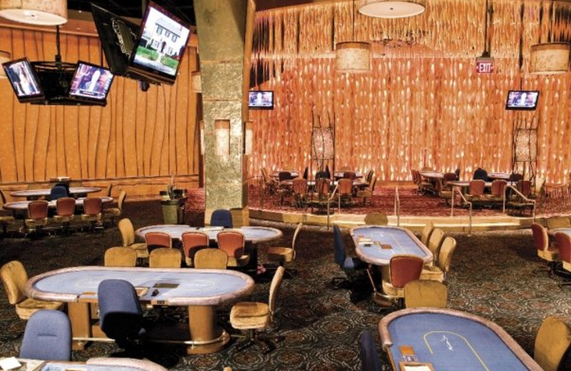 Poker room at Mohegan Sun.
