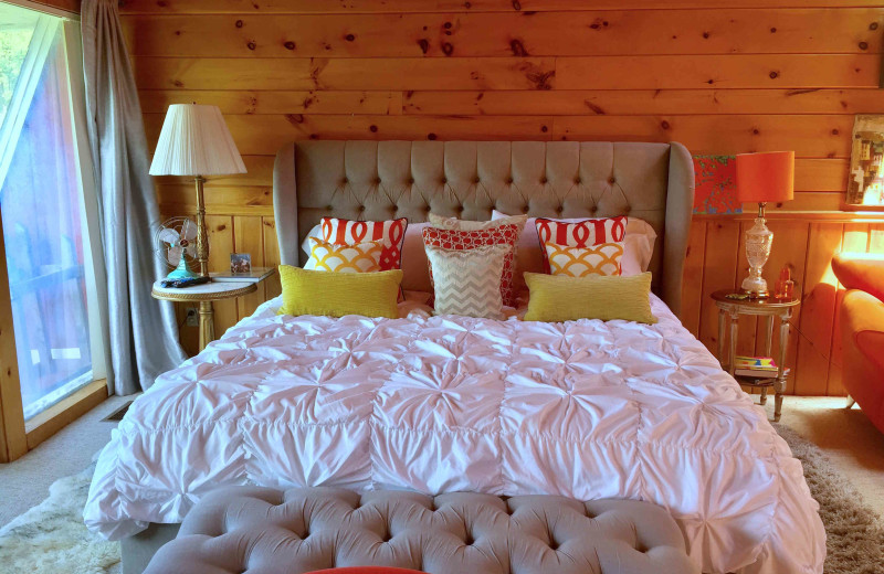 Guest room at The Kaaterskill.