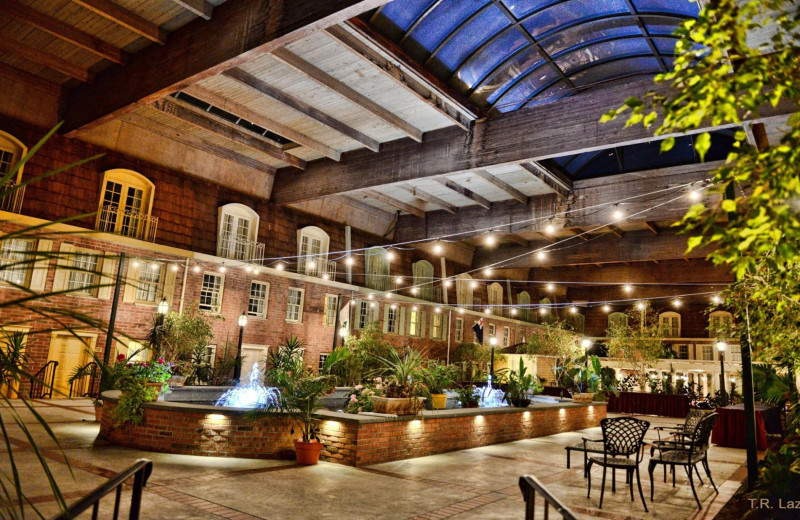 Courtyard at Desmond Hotel and Conference Center.