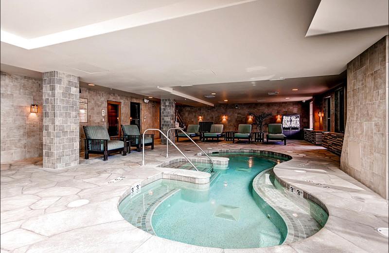 Rental indoor pool at Breckenridge Rentals by Owner.