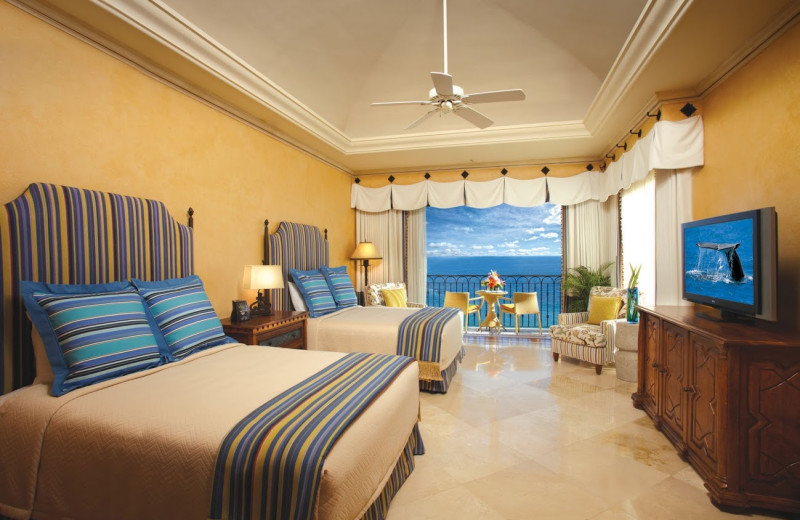 Guest room at  Los Cabos Resort.