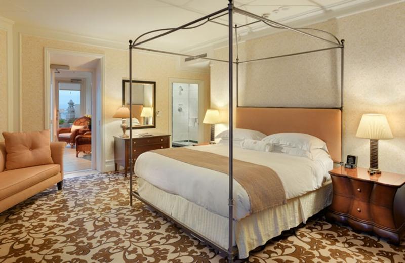 Guest room at Mark Hopkins Inter-Continental San Francisco.