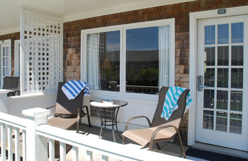 Private Balcony at The Beachside At Nantucket