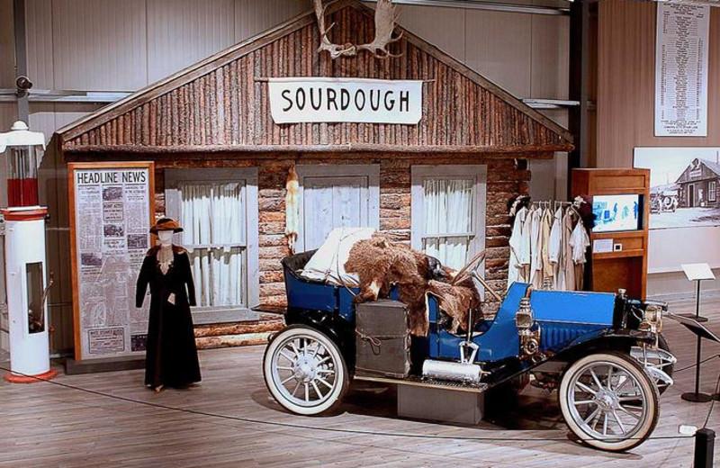 Fountainhead Antique Auto Museum near Bear Lodge.