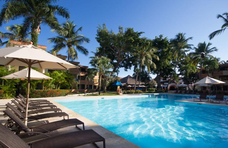 Outdoor pool at Viva Dominicus Beach.