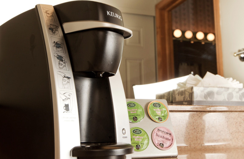 Guests will find fully stocked Keurig Coffee Machines in each individual guest room at The Inns.