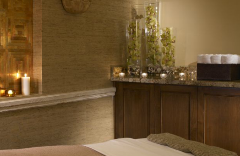The spa at Surf & Sand.