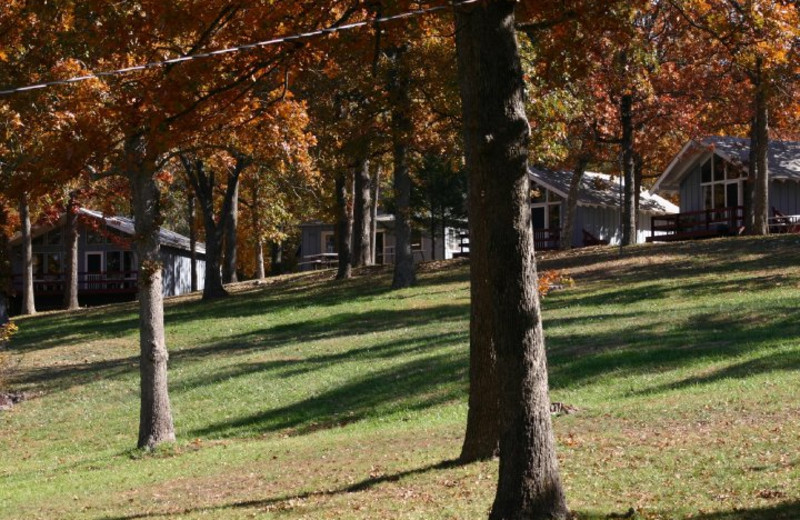 Cabins at Indian Trails Resort.