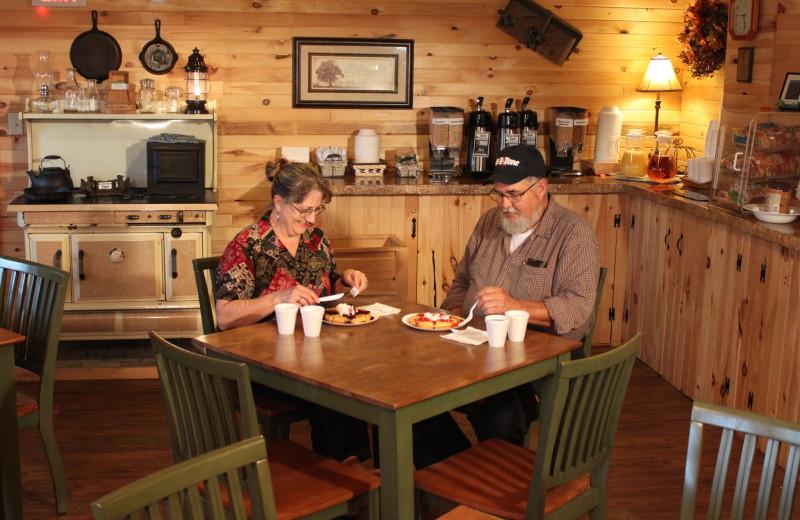 Breakfast at Vacationland Inn.
