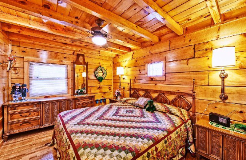 King suite at Alpine Mountain Chalets.