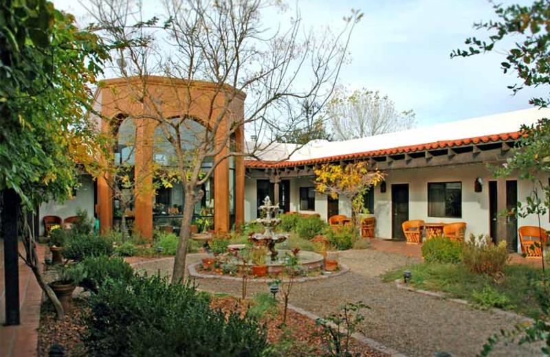 Exterior View of Casa de San Pedro