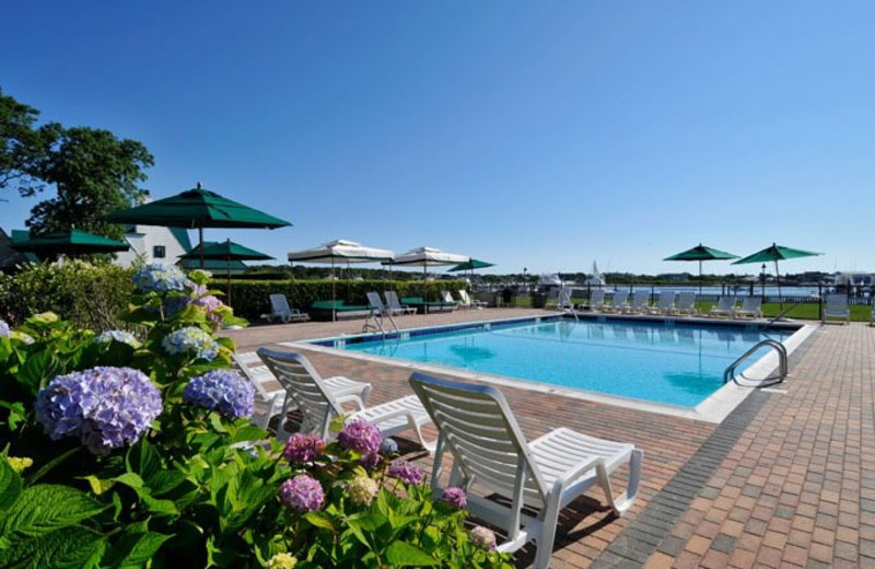 Outdoor pool at Montauk Yacht Club Resort & Marina.