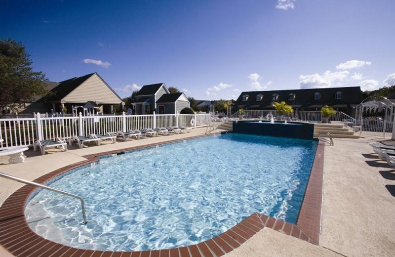 Outdoor pool at Wyndham Kingsgate.