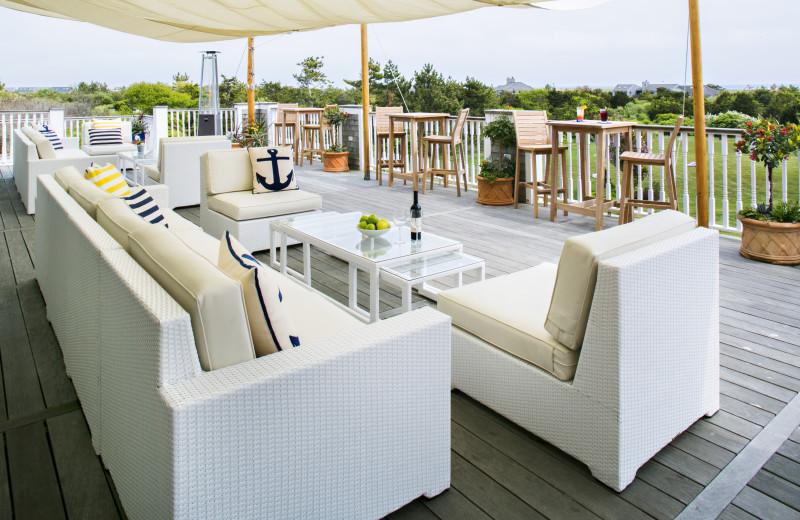 Dining at Winnetu Oceanside Resort.