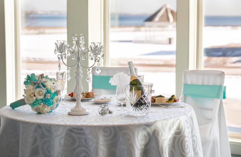Weddings at Aqua Blue Hotel.