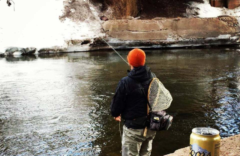 Fishing at The Crestwood.