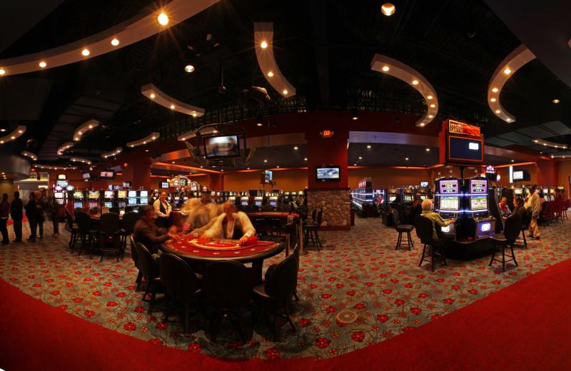 Casino at Seven Clans Casino Hotel.