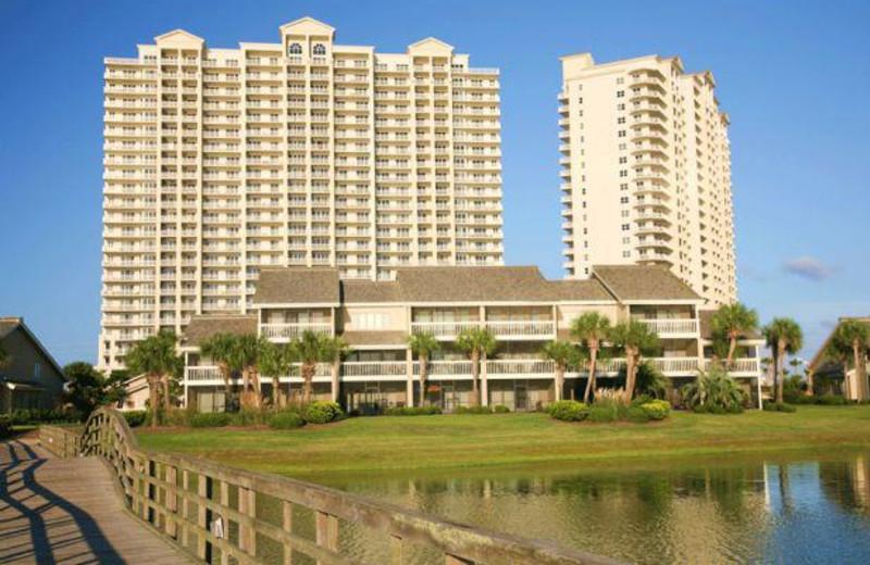 Exterior view of Seascape Resort.