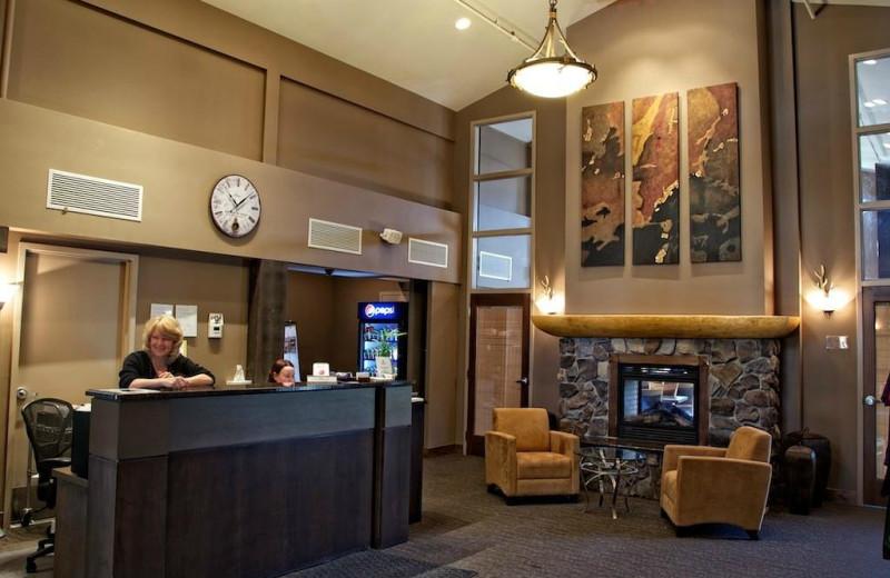 Lobby at Northstar Mountain Village Resort.