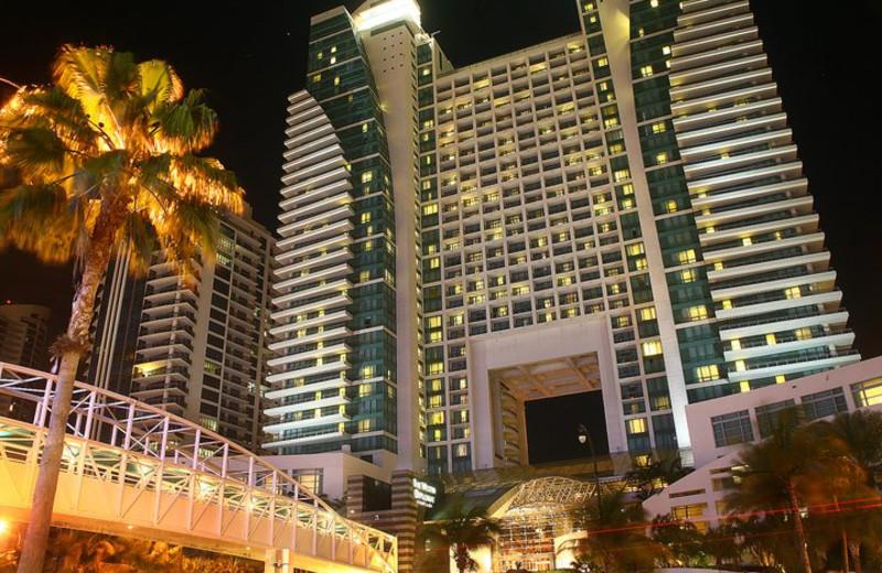 Exterior view of The Westin Diplomat Resort.