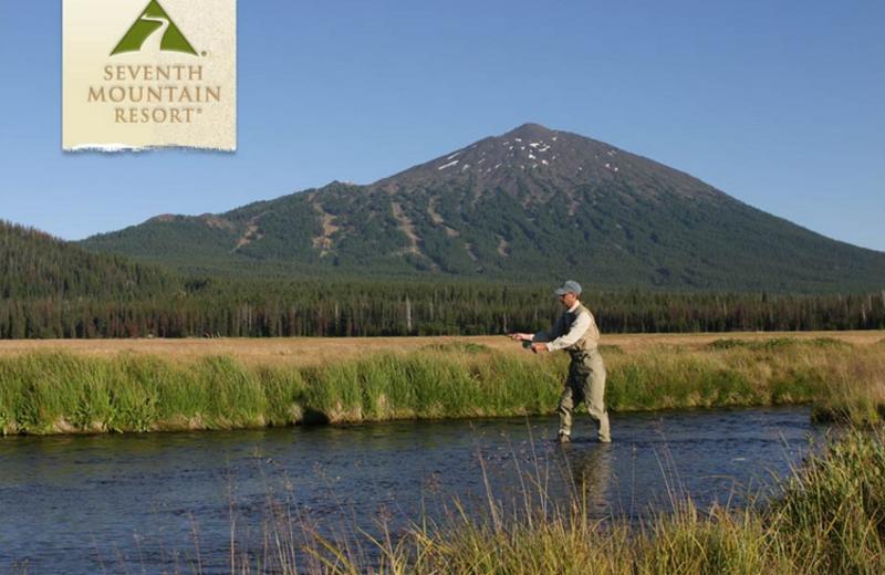 Fishing at Seventh Mountain Resort