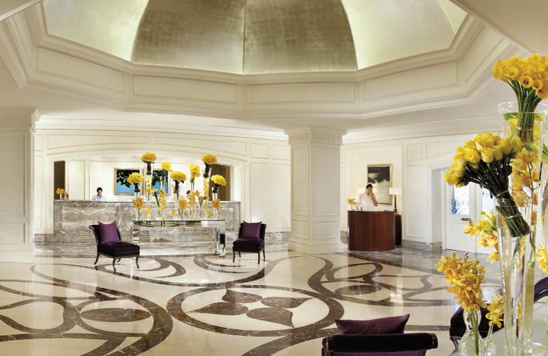 Lobby view at The Ritz-Carlton, Laguna Niguel.