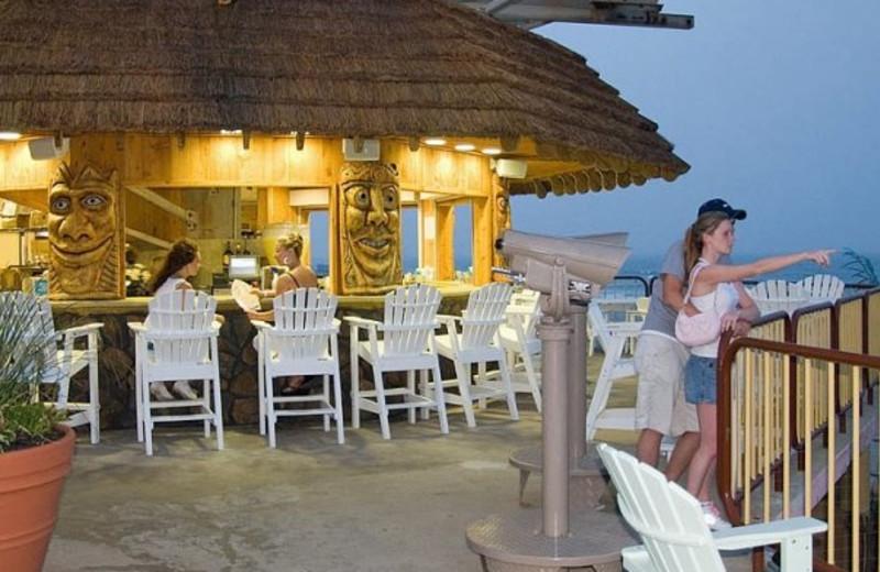 Tiki Bar at Moreys Pier Resorts