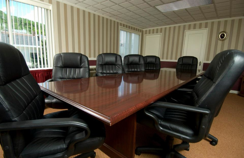 Meeting room at Capitol Plaza Hotel & Conference Center.