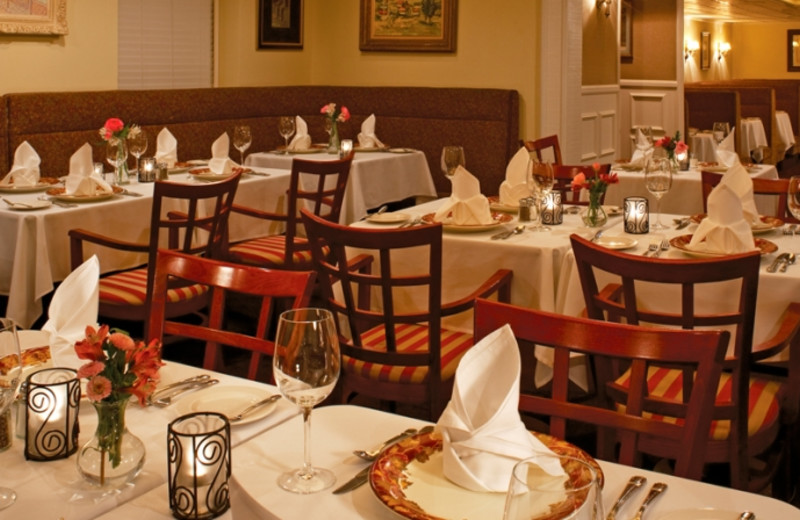 Dining at Park Manor Suites.