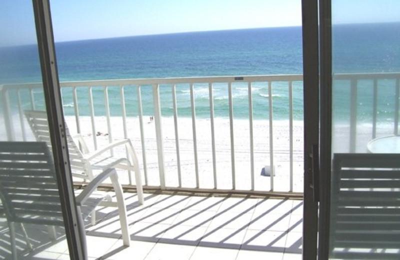 Balcony view at Beacon Resorts.