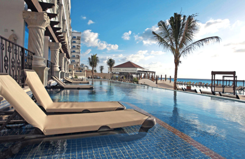 Swimming Pool and Sundeck at Hyatt Zilara - Cancun