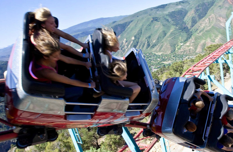 Cliffhanger Roller Coaster at Glenwood Caverns Adventure Park.