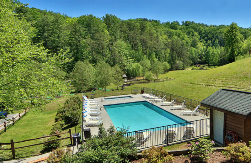 Swimming Pool at Little Valley Mountain Resort