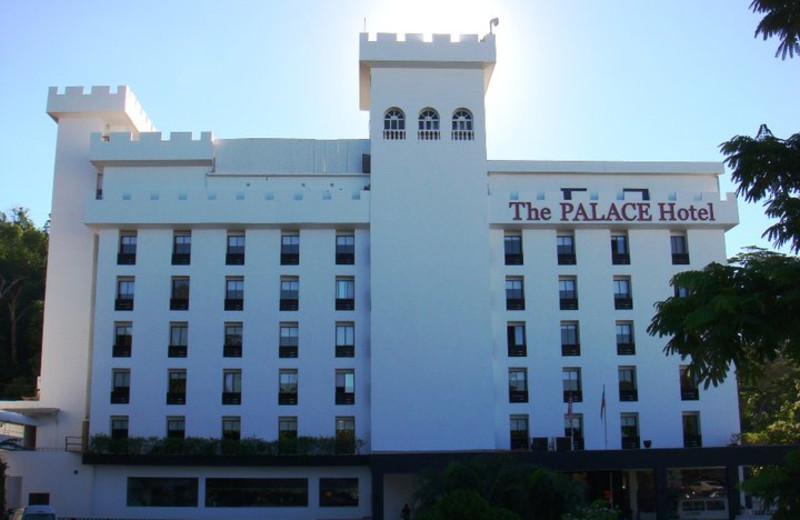Exterior view of Berjaya Palace Hotel.
