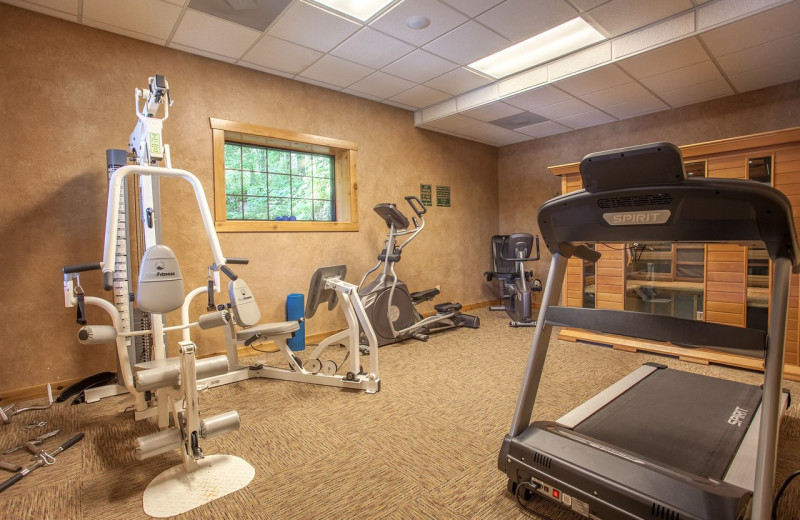 Fitness room at The Village At Indian Point Resort and Conference Center.