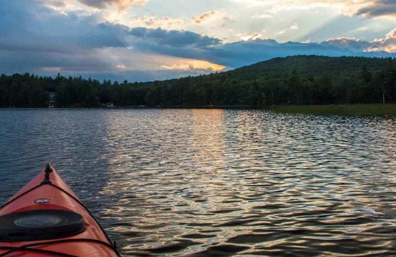 Lake near Attitash Mountain Village Resort.