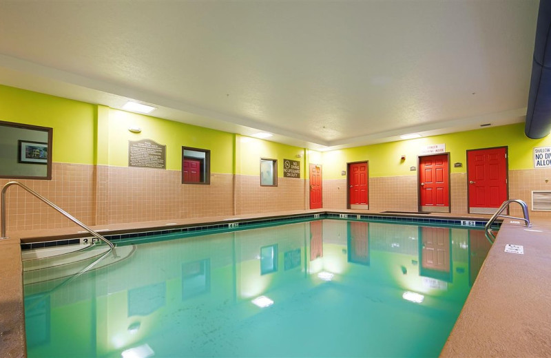 Indoor pool at BEST WESTERN PLUS Airport Inn