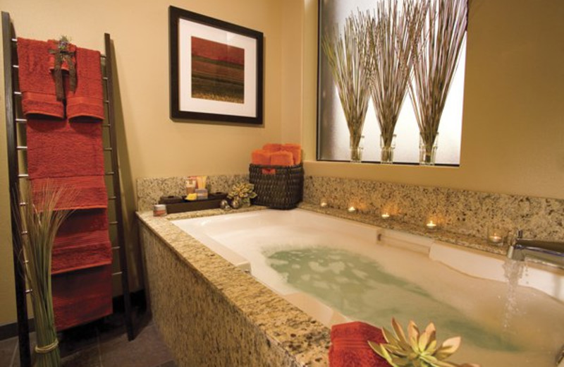 Bathroom at Red Mountain Resort.
