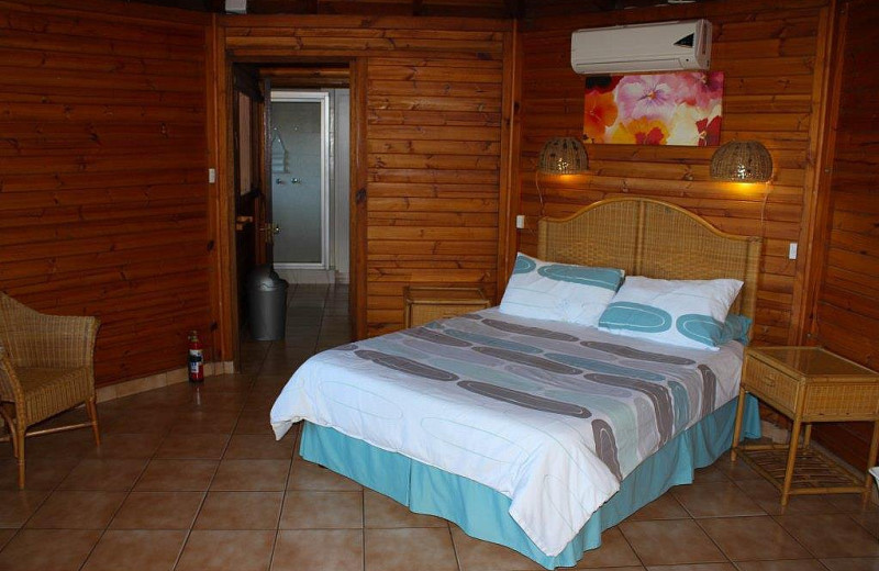Guest room at Dolphin Holiday Resort.
