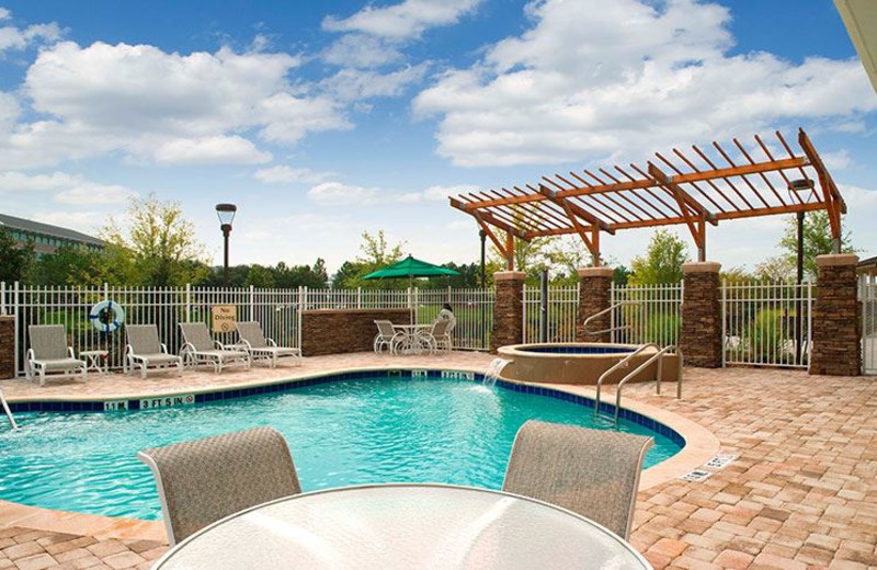 Outdoor Swimming Pool at Hotel Indigo Jacksonville Deerwood Park