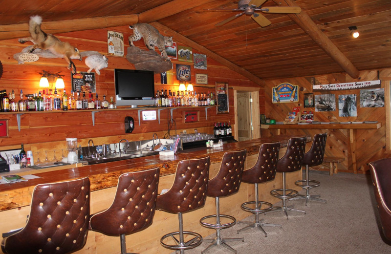 Bar at Kendall Valley Lodge.