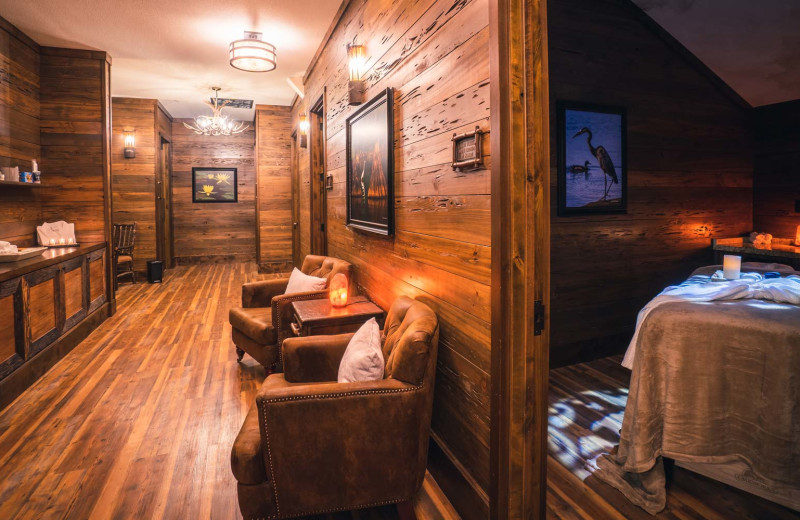 Spa at Big Cypress Lodge.
