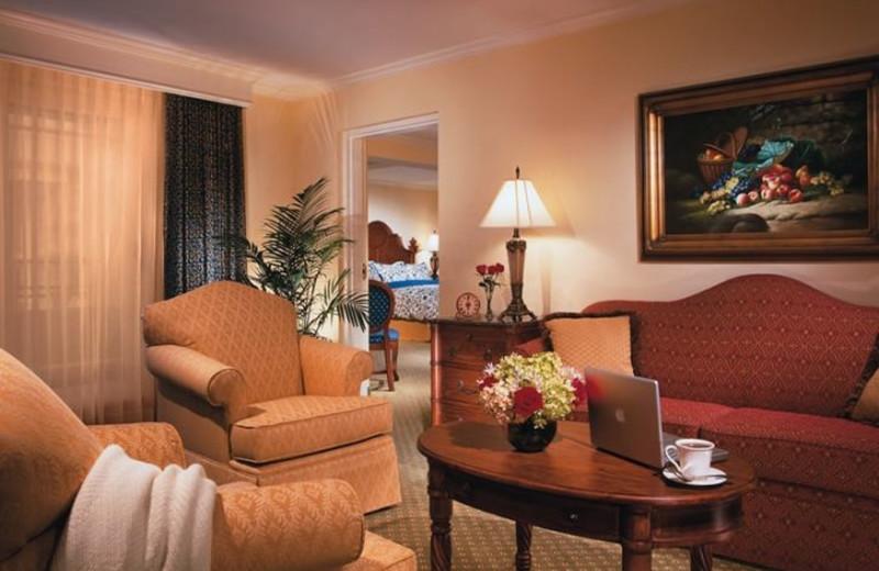 Suite Interior at Harborside Hotel