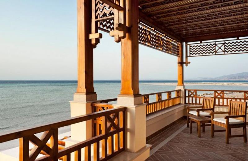 Beach view at Sheraton Delfina Santa Monica Hotel.