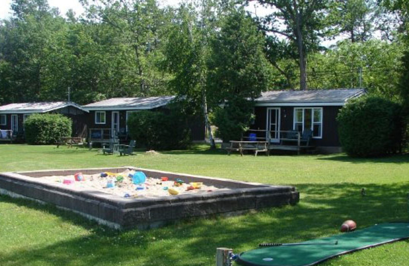 Resort grounds at Sunnylea Resort.