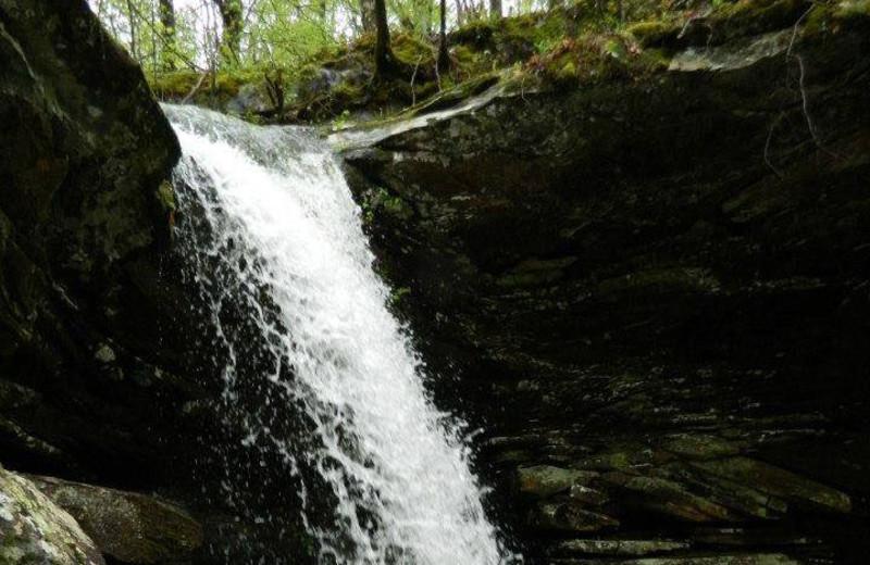 Magnolia Falls near Saddleback Lodge.