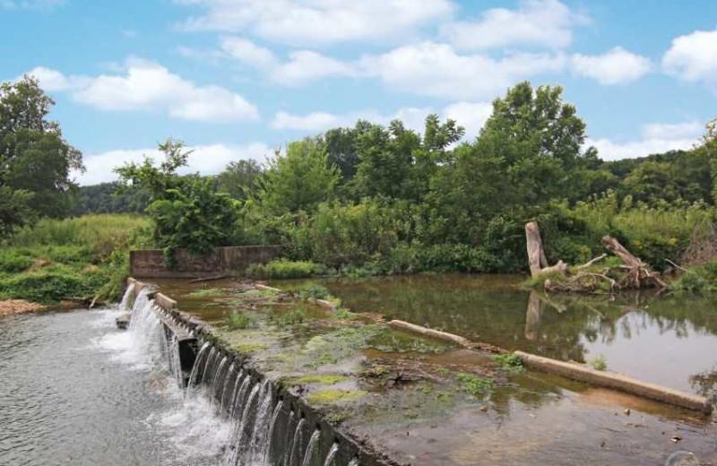Dam at Dawn Hill Community.