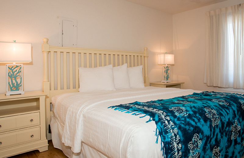 Guest bedroom at The Winds Resort Beach Club.